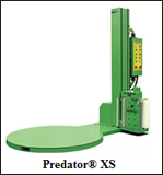 Predator XS semi automatic turntable stretch wrap machine
